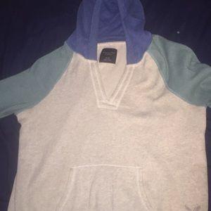 Multicolored hoodie